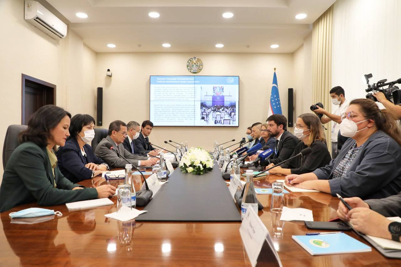 Head of the mission of the OSCE DIIHB Meeting with the participation of О.Murphy
